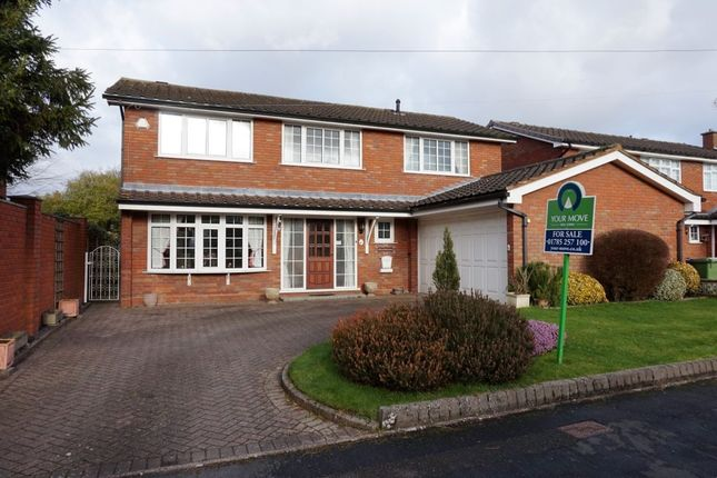 Thumbnail Detached house for sale in Grosvenor Way, Stafford