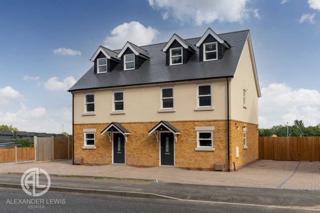Thumbnail Semi-detached house for sale in Hitchin Road, Stotfold, Hitchin