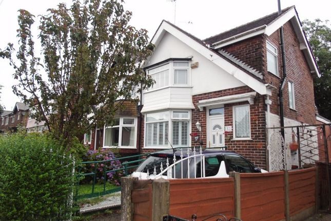 3 bed semi-detached house for sale in 12 Willingdon Drive, Prestwich, Manchester M25