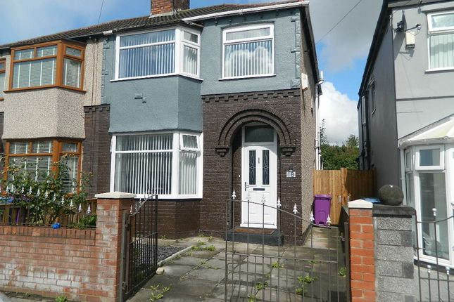 Thumbnail Semi-detached house for sale in Ayrshire Road, Liverpool