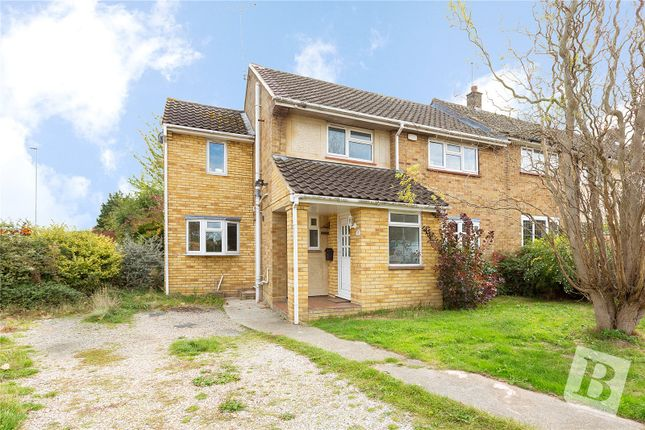 Thumbnail End terrace house for sale in Meadgate Avenue, Great Baddow, Essex