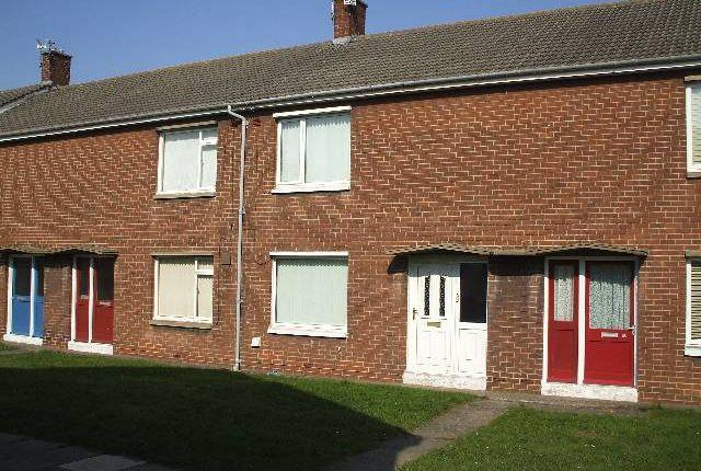 Thumbnail Terraced house to rent in Hesleyside, Ashington