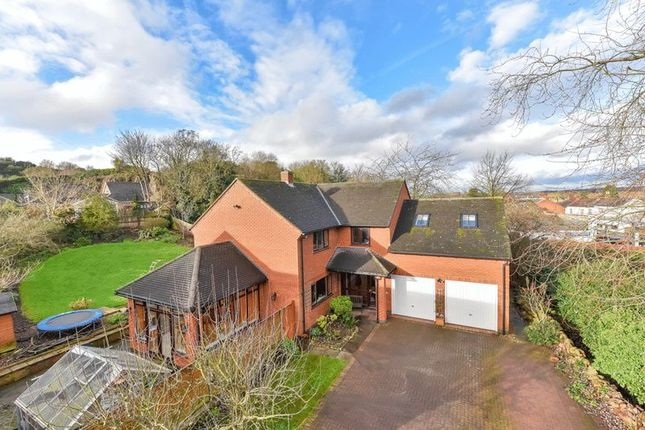 Thumbnail Detached house for sale in The Green, Mountsorrel, Loughborough