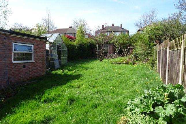 Rear Garden of Vernon Road, Broom S60