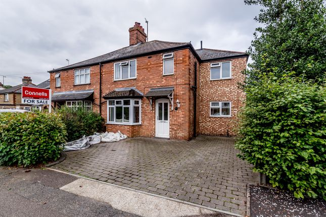 Thumbnail Semi-detached house for sale in Baldock Road, Stotfold, Hitchin