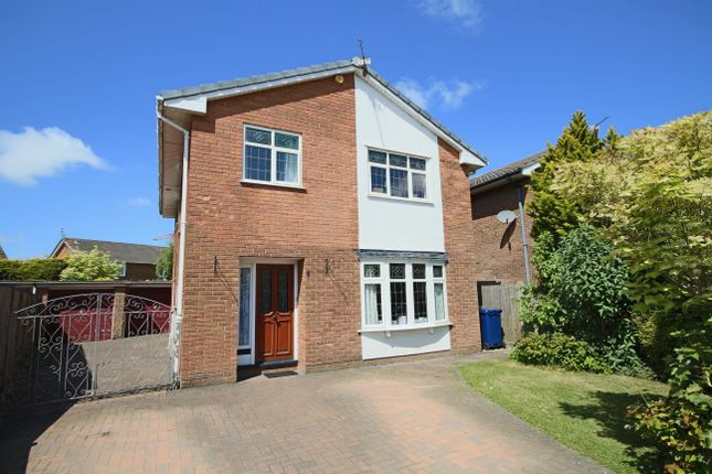 Thumbnail Detached house for sale in Woodland Grove, Penwortham, Preston