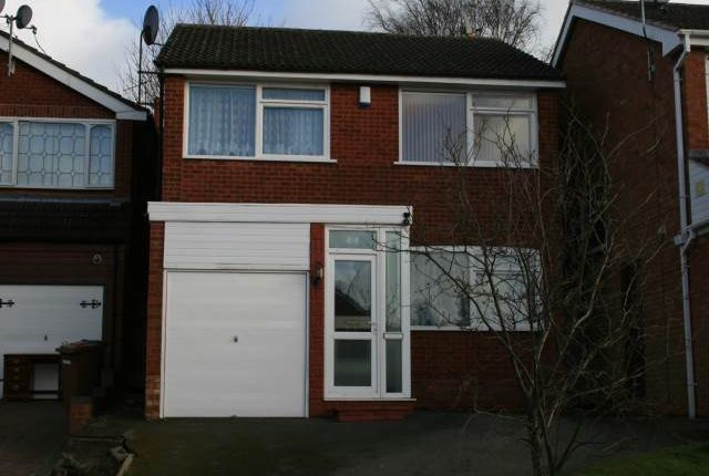 Thumbnail Detached house to rent in Launceston Close, Park Hall, Walsall