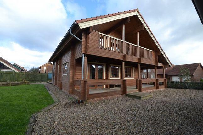 Thumbnail Lodge for sale in Chevington Green, Hadston, Morpeth