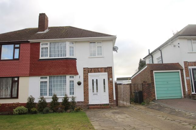 Thumbnail Semi-detached house to rent in Blenheim Road, Orpington