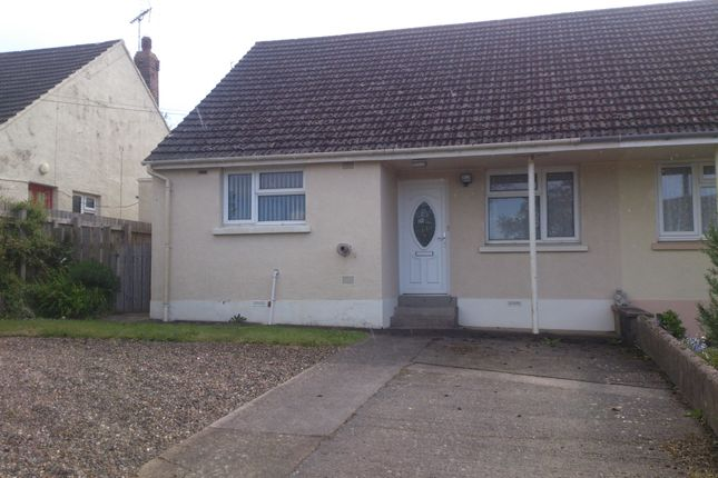 Thumbnail Semi-detached bungalow to rent in Crundale, Haverfordwest
