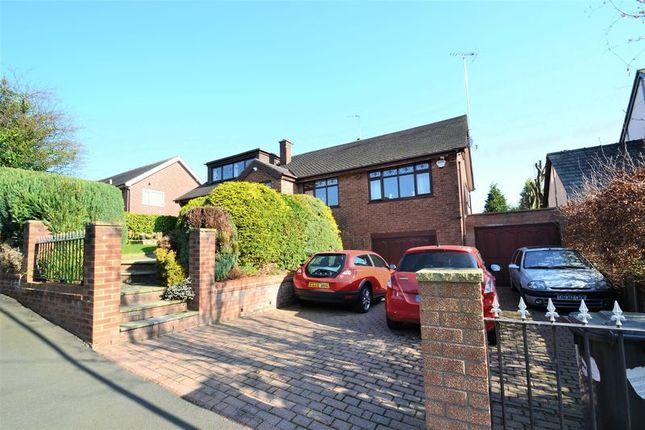 Thumbnail Detached house for sale in Leaconfield Drive, Worsley, Manchester