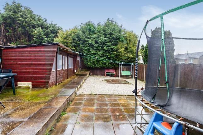Garden of Slater Ave, Colne, Lancashire, . BB8