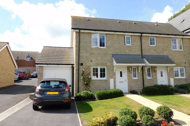 Thumbnail End terrace house for sale in Cloakham Drive, Axminster