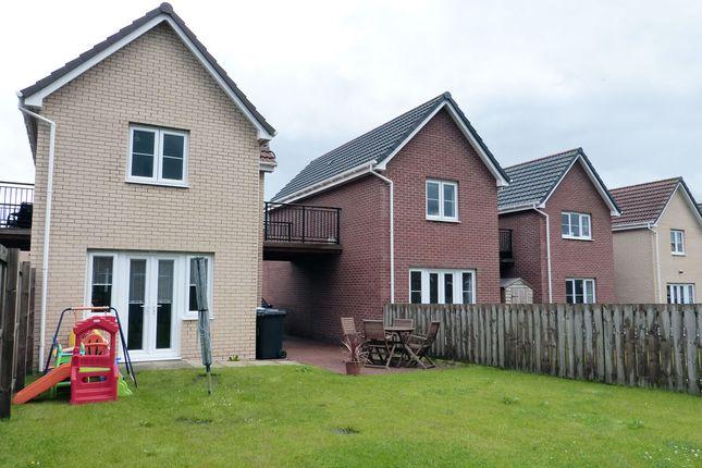 Rear Aspects of Wattle Lane, Ballerup Village, East Kilbride G75