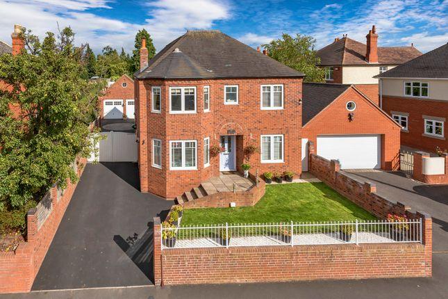Thumbnail Detached house for sale in Wrekin Road, Wellington, Telford, Shropshire