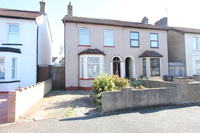 Thumbnail Semi-detached house for sale in Hurlstone Road, London
