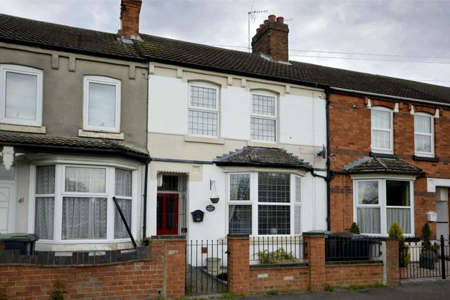 2 bed terraced house to rent in Kimbolton Road, Higham Ferrers, Rushden, Northamptonshire NN10