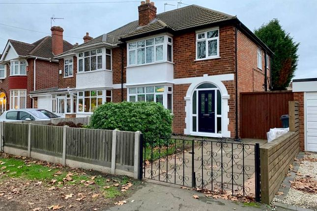Thumbnail Semi-detached house to rent in Groby Road, Leicester