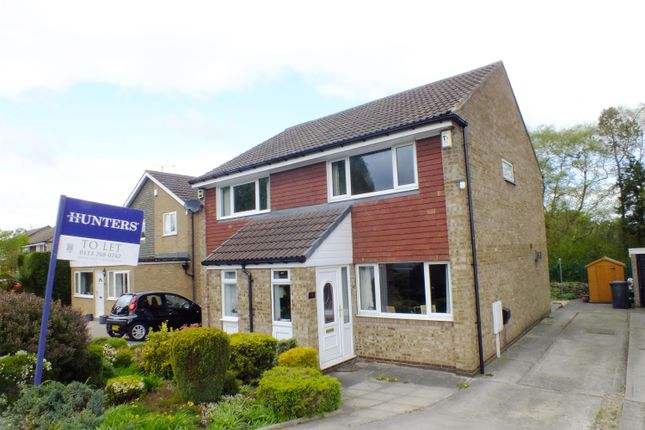 Thumbnail Semi-detached house to rent in Turnberry Grove, Alwoodley, Leeds