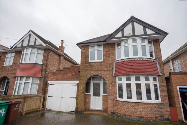 Thumbnail Detached house for sale in St. Austell Drive, Wilford, Nottingham