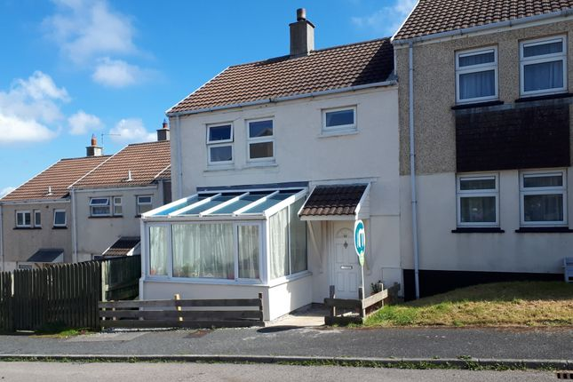 Thumbnail End terrace house for sale in Tregundy Road, Perranporth