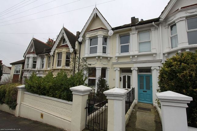 Thumbnail Terraced house to rent in Hartington Road, Brighton