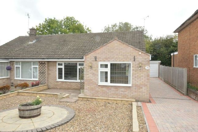 Thumbnail Semi-detached bungalow for sale in Gwendoline Drive, Countesthorpe, Leicester