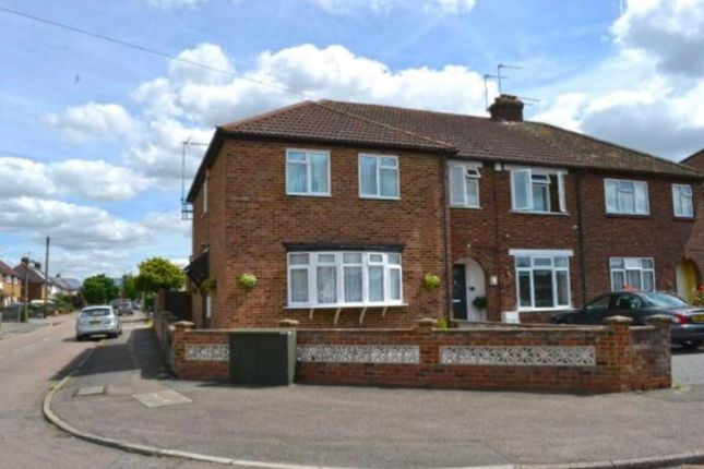 Thumbnail End terrace house to rent in Stockfield Avenue, Hertfordshire