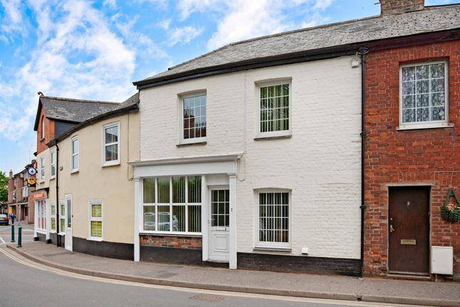 Thumbnail Terraced house to rent in Leat Street, Tiverton