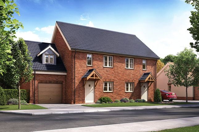 Thumbnail Semi-detached house for sale in Horning Road, Hoveton, Norwich, Norfolk