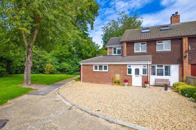 Thumbnail Semi-detached house for sale in St. Wendreds Way, Exning, Newmarket