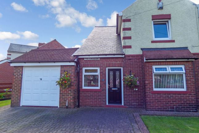 Thumbnail Semi-detached house for sale in The Crescent, Jarrow