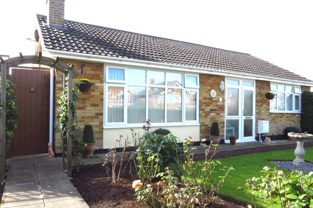 Thumbnail Detached bungalow for sale in Constable Road, Hillmorton, Rugby
