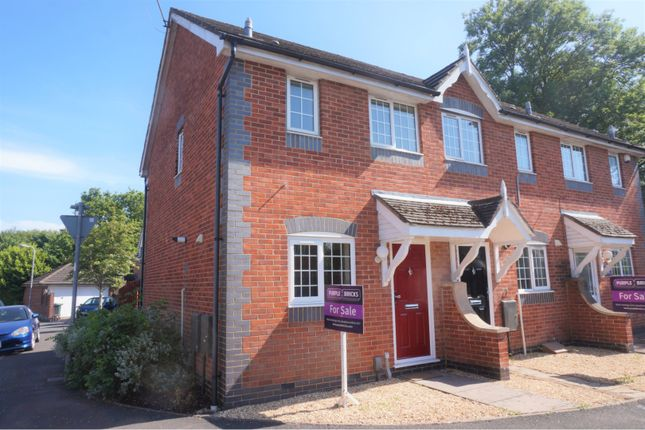 Thumbnail End terrace house for sale in Lascelles Drive, Cardiff