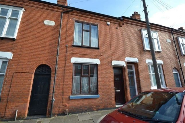 Thumbnail Terraced house to rent in Adderley Road, Clarendon Park, Leicester