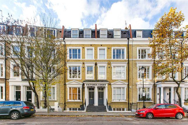 External of Kempsford Gardens, Earls Court, London SW5