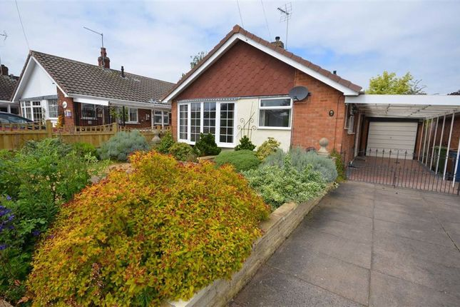 Thumbnail Detached bungalow for sale in Croft Road, Walton, Stone