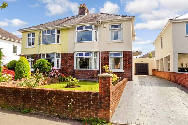 Thumbnail Semi-detached house for sale in Coity Road, Bridgend, Bridgend County.