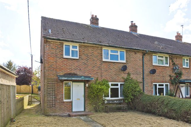 3 bed semi-detached house to rent in Cross Road Cottages, Wyck Lane, Wyck, Alton GU34