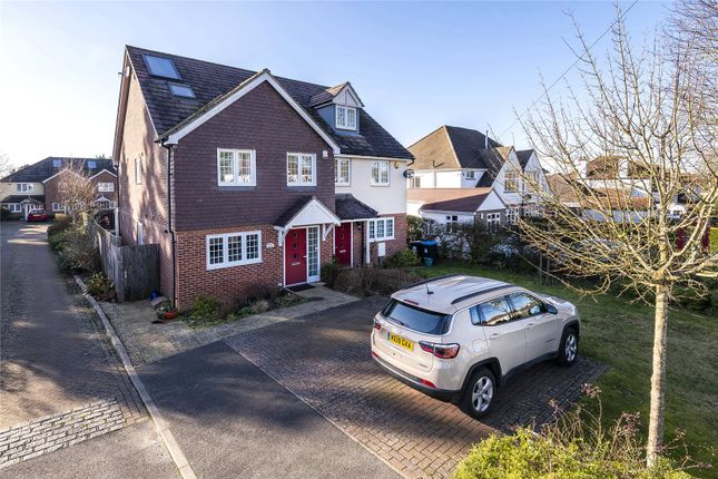 Semi-detached house for sale in Whitefields, Caterham, Surrey
