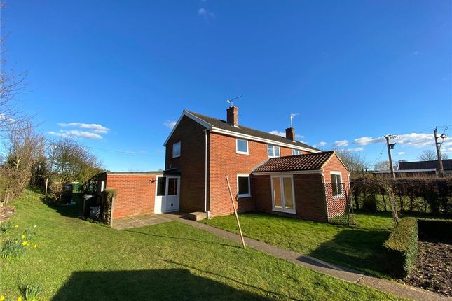 Thumbnail Semi-detached house to rent in Lower Raydon, Ipswich