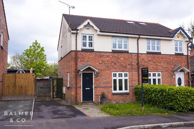 3 bed semi-detached house to rent in Quarry Pond Road, Little Hulton, Worsley, Manchester M28