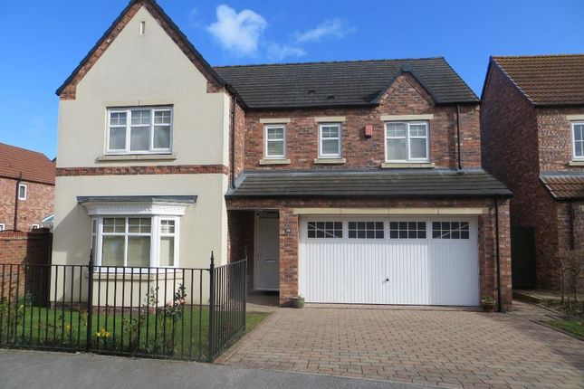Thumbnail Detached house for sale in Scholars Drive, Cottingham Road, Hull