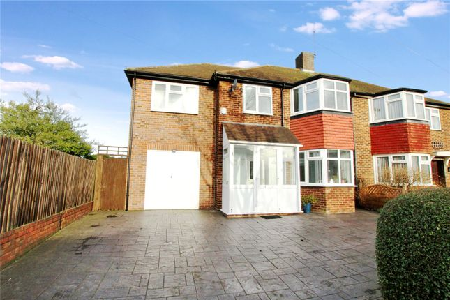 Thumbnail Semi-detached house for sale in Royal Road, Sidcup, Kent