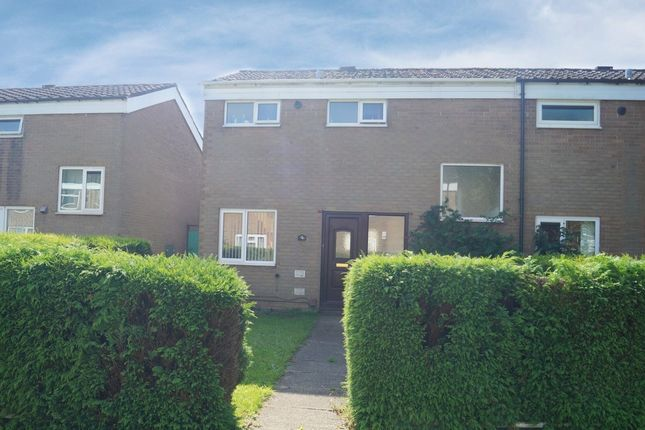 Thumbnail End terrace house for sale in Lakefield Close, Birmingham