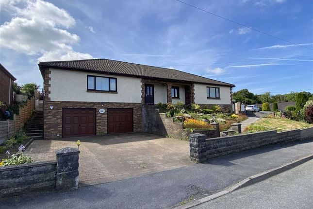 Thumbnail Detached bungalow for sale in Heol Nantyglasdwr, Cwmffrwd, Carmarthen