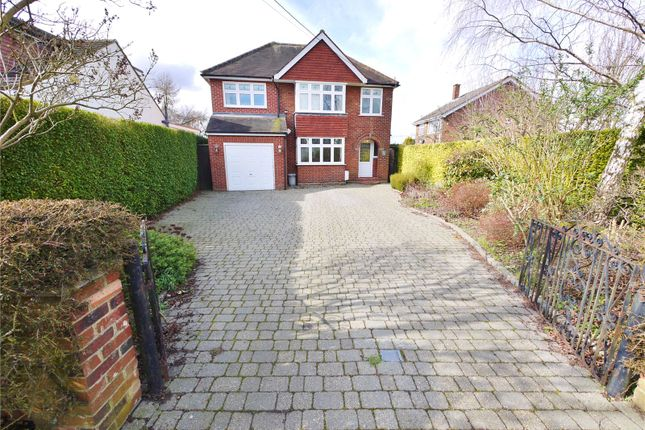 Thumbnail Detached house for sale in Mill Lane, Kelvedon Hatch, Brentwood, Essex