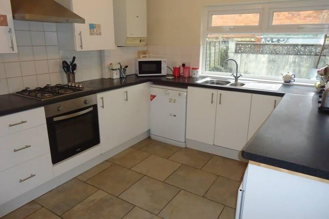 Thumbnail Terraced house to rent in Malefant Street, Cathays Cardiff