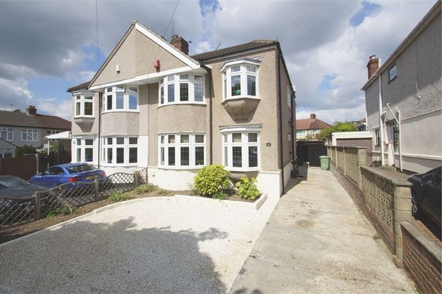 Thumbnail Semi-detached house for sale in Willersley Avenue, Sidcup, Kent