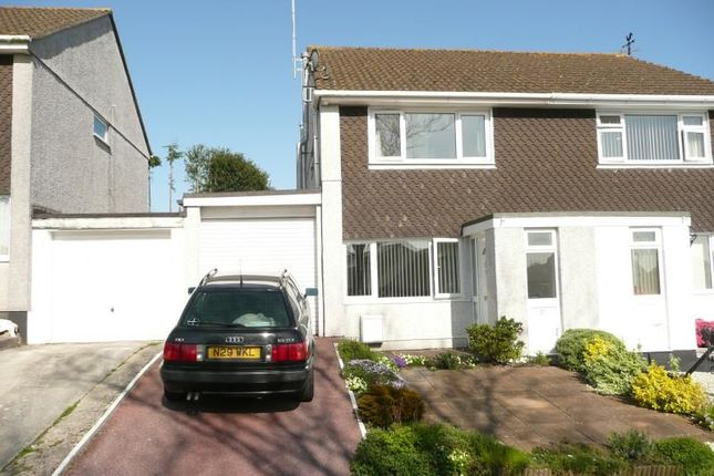 Thumbnail Semi-detached house to rent in Laura Drive, Boscoppa, St. Austell